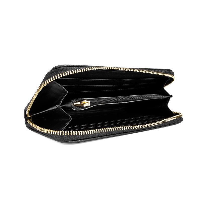 VG portafoglio saffiano nero