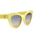 ❤️ VG occhiali da sole swarovski giallo vanilla
