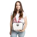 ❤️VG Low Cost-Too Chic borsa saponetta grande bicolor
