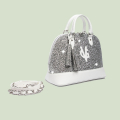 VG borsa Bugatti grande glitter argento