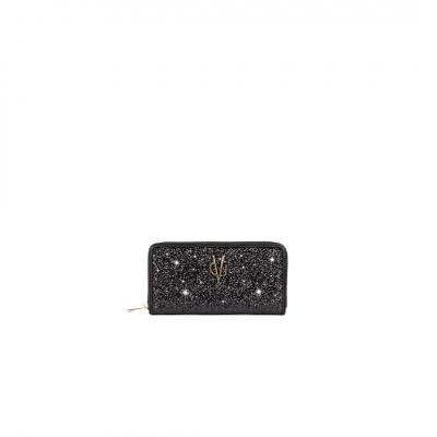 VG portafoglio glitter nero