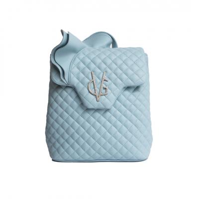 VG zaino rouches azzurro dusty