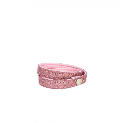 ❤️VG braccialetto glitter Rosa Candy