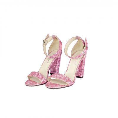 VG sandalo glitter rosa