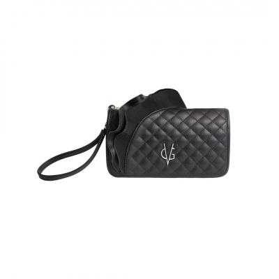 VG portafoglio rouches nero