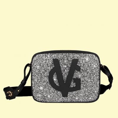 VG saponetta grande nera & glitter sale e pepe
