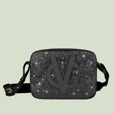 VG saponetta grande nera & glitter nero