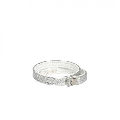 ❤️VG braccialetto glitter Argento